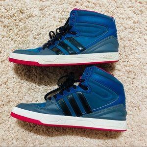 Adidas high tops EUC